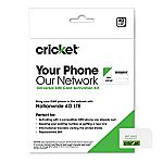 Cricket Wireless 3-in-1 SIM Card Kit $2.99