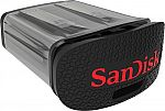 SanDisk Ultra Fit 64GB USB 3.0 Flash Drive $14