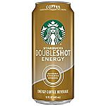 12-Count Starbucks Doubleshot Energy Drink, Coffee,15 Ounce Cans $20