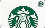 $10 Starbucks eGiftCard $5 (Targeted)