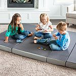 Lucid 4 in. King Size Folding Mattress $100 or less