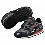 PUMA Cabana Racer Glitter Kids Sneakers (Black) $20 Shipped