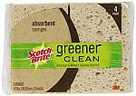 24-Count Scotch-Brite Greener Clean Absorbent Sponge $5.78