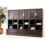 Belmont 9- Piece Modular Wall Storage Unit by Abbyson Living $999 (Save $450)