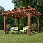 12' x 10' Cedar Pergola  by Leisure Time Products $899 (Delivery included)