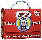 Thomas & Friends: My Red Railway Book Box (4 Books) $4.79