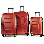 Samsonite Winfield 2 Fashion Hardside 3 Piece Spinner Set Orange $229