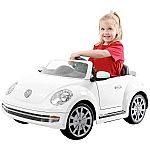 Rollplay VW Beetle 6-Volt Battery-Powered Ride-On $124.88 (was $199) & More