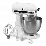 KitchenAid KSM75 Classic Plus 4.5qt Stand Mixer ($175 + Bonus $30 Kohls Cash)