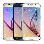 Samsung Galaxy S6 Smartphone 64GB AT&T or Verizon $265, or 32GB $250
