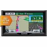 "Garmin nuvi 67LM 6"" GPS Navigation System w/ Lifetime Maps $99"