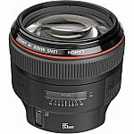 Canon EF 85mm f/1.2L II USM Autofocus Lens 1056B002 $1380