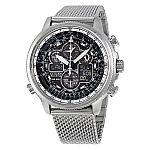 Citizen Navihawk UTC Eco-Drive Chronograph Mens Watch JY8030-83E $243