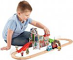 Fisher-Price Thomas the Train Wooden Railway Santa's Workshop Express $27
