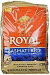 Royal Basmati Rice 20-Pound Bag $16 (Prime member only)