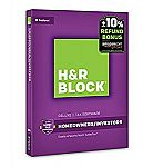 H&R Block Tax Software Deluxe 2016 + Refund Bonus Offer $9.95 and more