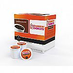 144 ct Dunkin' Donuts Original Blend Coffee K-Cup Pods $56 and more