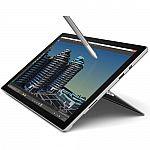 "Microsoft 12.3"" Surface Pro 4 Tablet i5 128GB $660"