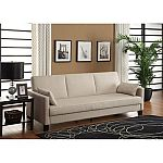 DHP Vienna Sofa Sleeper with 2 Pillows $189 (org $249.23)