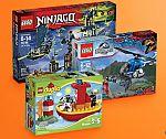 30+ Lego Building Sets 30% off