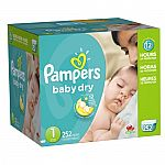 20% Off 2 or more Pampers or Luvs Diapers + Free Shipping on $35+