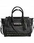 COACH Bandana Rivets Swagger 21 in Glovetanned Leather $236 (Was $450)
