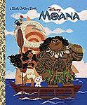 Moana Little Golden Book (Hardcover) $2.10