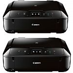 Canon PIXMA MG6820 Black Wireless Inkjet All-In-One Multifunction Printer (2 Pack) $99.99