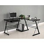 Walker Edison Soreno 3-Piece Corner Desk $63