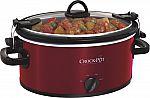 Crock-Pot 4-Quart Oval Slow Cooker $20