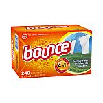3X of 240ct Bounce Fabric Softener Dryer Sheets + $10 Target GC $28.50