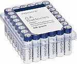 48-Pack Insignia AA or AAA Batteries $7