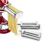 KitchenAid KSMPRA 3 Piece Pasta Roller & Cutter Attachment Set $100.07 (Org $199.99)