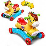 VTech Gallop & Rock Learning Pony Interactive Ride-On Toy $20