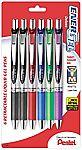 6-Pack Pentel EnerGel Deluxe Gel Ink Pens (Assorted Colors) $4.25