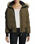 Canada Goose Savona Hooded Quilted Bomber Jacket (XXS-XL) $425 (50% Off)