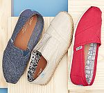 TOMS shoes sale up to 60% off