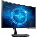 """Samsung 27"""" Curved LED 1920x1080 144hz 16:9 Gaming Monitor $349"""