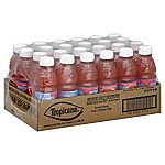24-Pack 10oz Tropicana Ruby Red Grapefruit Juice $10.49