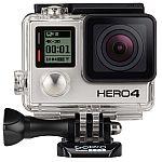 GoPro HERO4 Black Edition Camera Manufacturer Refurbished $202