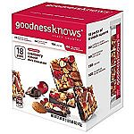 goodnessknows Cranberry 18Ct Snack Squares $11.43