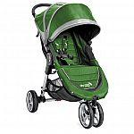 Baby Jogger City Mini Single Stroller Evergreen/Gray + $40 GC $200