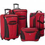 American Tourister Fieldbrook II 4-Piece Nested Luggage Set $70