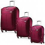 "Samsonite Mightlight Spinner Luggage: 30"" $124.99, 25"" $107.49, 21"" $79.49"