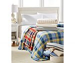 Martha Stewart Collection Soft Fleece Blankets $14.99 (orig. $50)