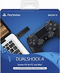 Sony - DualShock 4 Wireless Controller Starter Kit for PlayStation 4 $39.99