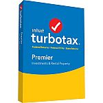 TurboTax Premier (Federal and State) for Windows/Mac, Tax Year 2016 $49.99