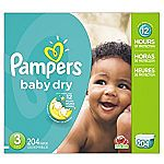 Amazon Pampers Swaddlers Sale: 128-ct Newborn $14.91, 216-ct Size 1 $18, more