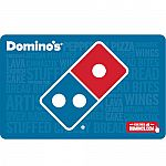 $50 Domino's Pizza Gift Card $40 and more