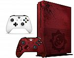 Xbox One S 2TB Console -Gears of War 4 Limited Edition Bundle + Extra Controller $330